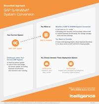 Миниатюра инфографики Конверсия системы SAP S/4HANA.